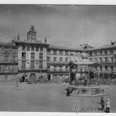 Fotografía antigua: TARJETA POSTAL EDICIONES SICILIA ZARAGOZA TUDELA PLAZA LOS FUEROS SIN CIRCULAR. Lote 26253372