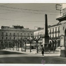 Fotografía antigua: TARJETA POSTAL EDICIONES MONTAÑES TAFALLA PLAZA DE NAVARRA SIN CIRCULAR. Lote 26333026