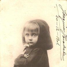 Fotografía antigua: ANTIGUA FOTO-POSTAL FECHADA 1901 *VER FOTO ADICIONAL*. Lote 22117757