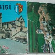Fotografía antigua: DESPLEGABLE CON 18 FOTOGRAFIAS DE ASSISI ITALIA. Lote 27177618