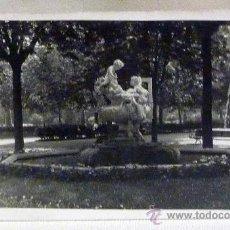 Fotografía antigua: FOTOGRAFIA TARJETA POSTAL, FUENTE DEL PARQUE DE BARCELONA , 13X8CM, BLANCO Y NEGRO,. Lote 23556070
