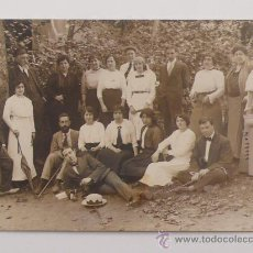 Fotografía antigua: SANT HILARI SACALM, AGOSTO 1913. . Lote 24401027