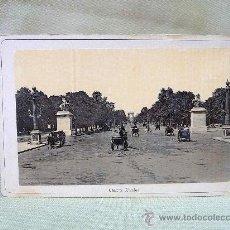 Fotografía antigua: FOTOGRAFIA, EXPOSICION UNIVERSAL 1889, PARIS, CAMPOS ELISIOS, 14 X 9 CM. Lote 25041533