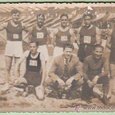 Fotografía antigua: FOTOGRAFIA DE UN EQUIPO DE DEPORTISTAS (AÑOS 20?). Lote 26707480