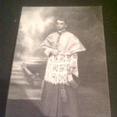 Fotografía antigua: ANTIGUA TARJETA POSTAL FOTOGRAFICA SA GRANDEUR MONSEIGNEUR GONON OBISPO DE MOULINS ALLIER FRANCIA. Lote 26803638