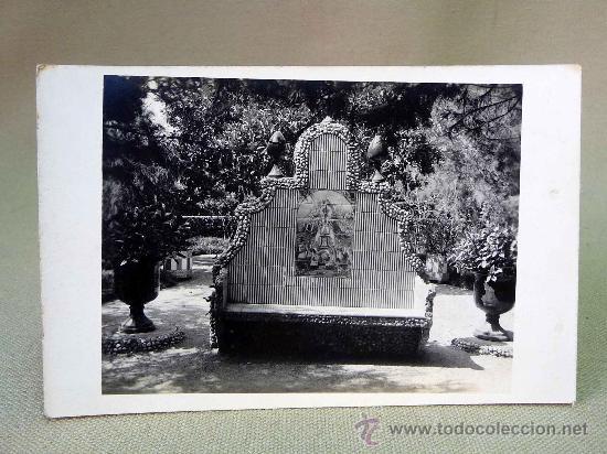 POSTAL TARJETA POSTAL, BANCO CON VIRGEN (Fotografía Antigua - Tarjeta Postal)