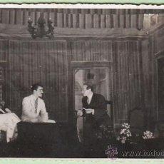 Photographie ancienne: FOTOGRAFIA DE UNA REPRESENTACIÓN TEATRAL. Lote 26867812