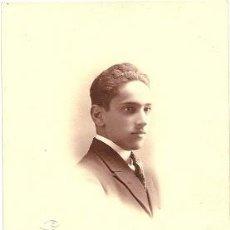 Fotografía antigua: 7804 - FOTOGRAFÍA CERVERA (VALLADOLID) INTERESANTE RETRATO DATA 1922. Lote 27031782