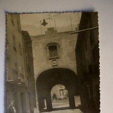 Fotografía antigua: CENTELLES - TORRE DEL PORTAL - AÑOS 50 - POSTAL FOTOGRÁFICA. Lote 27659877