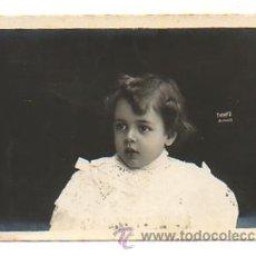 Fotografía antigua: RETRATO NIÑO. (TORRES FOTÓGRAFO, ALICANTE.) . Lote 28971754