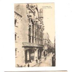 Fotografía antigua: 2 POSTALES ANTIGUAS BARCELONA. Lote 29464404