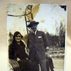 Fotografía antigua: ANTIGUA FOTO POSTAL, FOTOGRAFIA, PAREJA. Lote 29538735