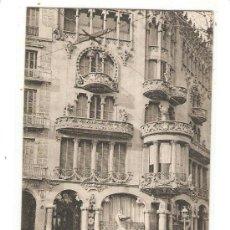 Fotografía antigua: 2 TARJETAS POSTALES ANTIGUAS DE BARCELONA. Lote 29558059