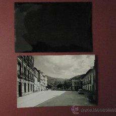 Fotografía antigua: GALICIA. ORENSE. EL BARCO DE VALDEORRAS. FOTOGRAFIA + NEGATIVO 10X15CM. AÑOS 60. Lote 29565810