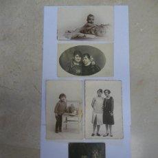 Fotografía antigua: TARGETAS POSTAL DE MUJERES Y NIÑOS (1920-1930). Lote 29606828