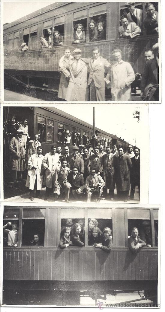 PS2951 LOTE DE 18 POSTALES FOTOGRÁFICAS DE VISITA DEL ORFEÓ CATALÀ A SEVILLA Y VALENCIA. MAYO 1930 (Fotografía Antigua - Tarjeta Postal)