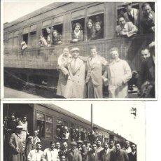 Fotografía antigua: PS2951 LOTE DE 18 POSTALES FOTOGRÁFICAS DE VISITA DEL ORFEÓ CATALÀ A SEVILLA Y VALENCIA. MAYO 1930. Lote 29750035