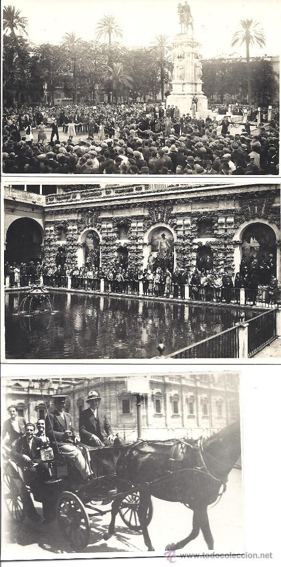 Fotografía antigua: PS2951 LOTE DE 18 POSTALES FOTOGRÁFICAS DE VISITA DEL ORFEÓ CATALÀ A SEVILLA Y VALENCIA. MAYO 1930 - Foto 2 - 29750035