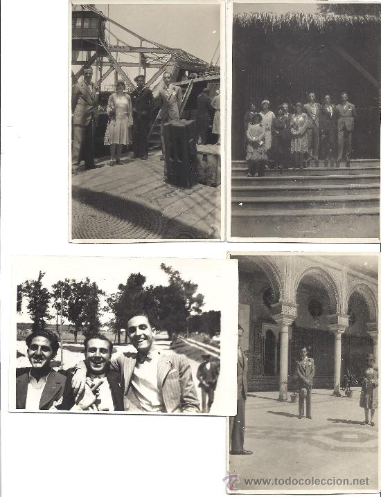 Fotografía antigua: PS2951 LOTE DE 18 POSTALES FOTOGRÁFICAS DE VISITA DEL ORFEÓ CATALÀ A SEVILLA Y VALENCIA. MAYO 1930 - Foto 3 - 29750035