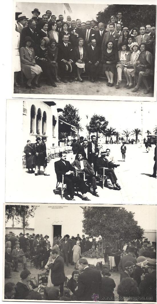 Fotografía antigua: PS2951 LOTE DE 18 POSTALES FOTOGRÁFICAS DE VISITA DEL ORFEÓ CATALÀ A SEVILLA Y VALENCIA. MAYO 1930 - Foto 4 - 29750035