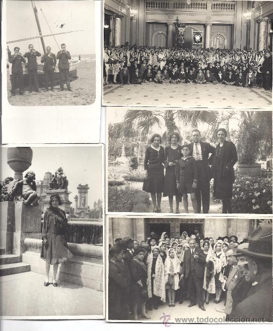 Fotografía antigua: PS2951 LOTE DE 18 POSTALES FOTOGRÁFICAS DE VISITA DEL ORFEÓ CATALÀ A SEVILLA Y VALENCIA. MAYO 1930 - Foto 5 - 29750035