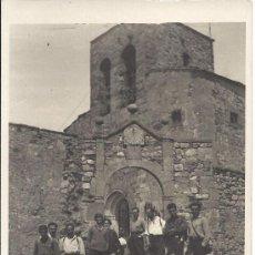 Fotografía antigua: PS2810 TARJETA POSTAL DE VISITA DE TAGAMANENT (BARCELONA). 14 DE ABRIL DE 1929. Lote 29750834