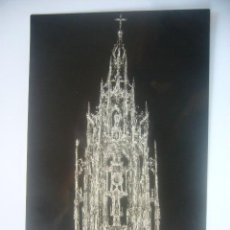 Fotografía antigua: POSTAL DE TOLEDO - CATEDRAL - LA CUSTODIA DE ARTE (LUIS ARRIBAS. 1958). Lote 30227835