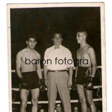 Fotografía antigua: BOXEO. EL BOXEADOR HILARIO MARTÍNEZ, 1930'S.. Lote 175570515