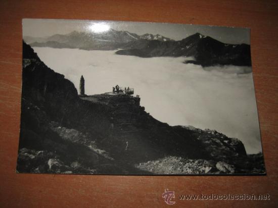 REGION DE LIEBANA Y LOS PICOS DE EUROPA POTES-SANTANDER FOTO E. BUSTAMANTE (Fotografía Antigua - Tarjeta Postal)