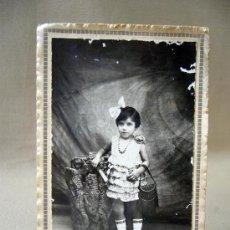 Fotografía antigua: POSTAL, TARJETA POSTAL, FOTO ESTUDIO, 1929, PINAZO. Lote 30743411