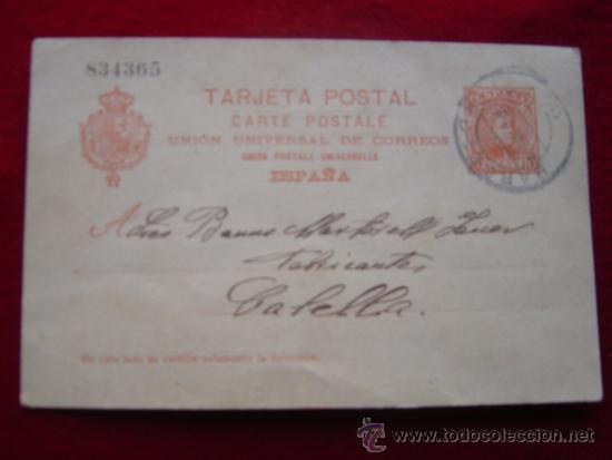TARJETA POSTAL 1-8-1904 (Fotografía Antigua - Tarjeta Postal)