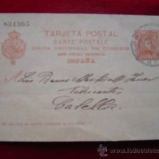 Fotografía antigua: TARJETA POSTAL 1-8-1904. Lote 30807775