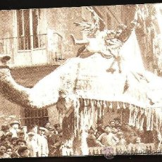 Fotografía antigua: VALENCIA DE AYER. FALLAS 1901 - 1910. BLOQUE DE 10 POSTALES. Lote 31125090
