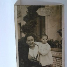 Fotografía antigua: TARJETA POSTAL VIVEROS MUNICIPALES VALENCIA. Lote 31201886