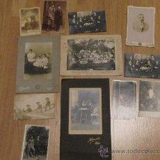Fotografía antigua: CONJUNTO DE FOTOGRAFÍAS - FAMILIA ASTURIANA. Lote 31286680