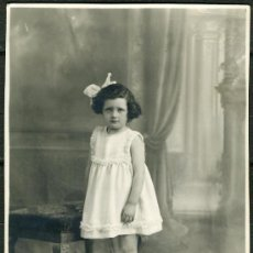 Fotografía antigua: FOTO TARJETA POSTAL – NIÑA. Lote 31648282