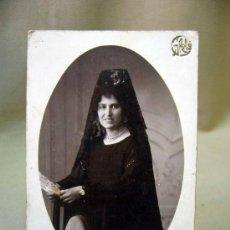 Fotografía antigua: TARJETA POSTAL, POSTAL, G. ROLLO, VALENCIA, MUJER. Lote 31970104