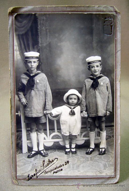 Fotografia antigua foto postal ni os mariner comprar - Estudio palma de mallorca ...