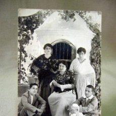 Fotografía antigua: POSTAL, TARJETA POSTAL, FAMILA, 1916. Lote 32093070