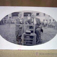 Fotografía antigua: POSTAL, FOTO POSTAL, LEONAR, PAREJA. Lote 32101976