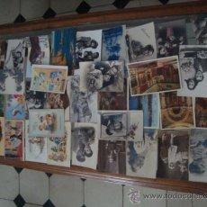 Fotografía antigua: GRAN LOTE ANTIGUAS TARJETAS POSTALES DE TODO TIPO DESDE LOS AÑOS 29 HASTA EL 61 DE TODAS. Lote 32027506