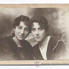 Fotografía antigua: RETRATO 2 MUJERES. (GARCISANCHEZ, FOTÓGRAFO. LA LÍNEA). Lote 32475892