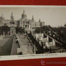 Fotografía antigua: PALACIO NACIONAL - EXPOSICION INTERNACIONAL DE BARCELONA 1929. Lote 32533753