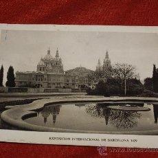 Fotografía antigua: EXPOSICION INTERNACIONAL DE BARCELONA 1929 - PALACIO NACIONAL. Lote 32533294