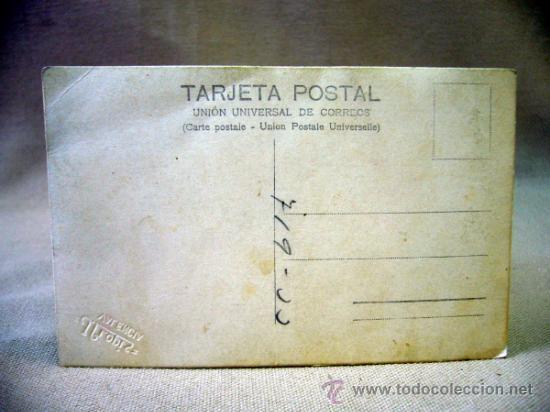 Fotografía antigua: TARJETA POSTAL ANTIGUA, J. LLOPIS, NIÑA, CON DISFRAZ - Foto 2 - 33395387