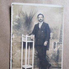 Fotografía antigua: HOMBRE DE BIGOTES, MUSTACHED MAN, HOMME MOUSTACHU. Lote 33519479