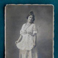 Fotografía antigua: RETRATO CON DEDICATORIA, FECHADO EN 1911 Y REALIZADO EN EL ESTUDIO DE ALFONSO (FUENCARRAL) MADRID.. Lote 33769459