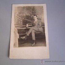 Fotografía antigua: ANTIGUA FOTOGRAFIA. TARGETA POSTAL .. Lote 34099443