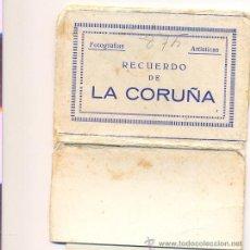 Photographie ancienne: TIRA DE FOTOGRAFIAS ARTISTICAS LA CORUÑA - ARRIBAS 10 FOTOS 105X75. Lote 34526017
