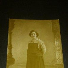 Fotografía antigua: ANTIGUA FOTOGRAFIA TARJETA POSTAL ESCRITA JUMILLA MURCIA 1921. Lote 34937272